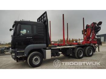 MAN MAN TGS 26.540 XL 6x4 Kurzholz TGS 26.540 XL 6x4 Kurzholz - timber transport