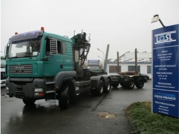 Leasing MAN TGA33.430 6x6 EURO 3 + Lemex  - timber transport