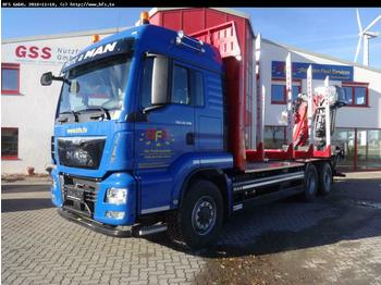 MAN TGS 26.500 6x4H-4BL Kurzholz  - timber transport