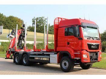 Timber transport MAN TGS 33.510  6X4 BL/ Euro6d   EPSILON M 12Z