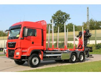 Timber transport MAN TGS 33.510 6X4 BL/ Euro6d EPSILON M 12Z