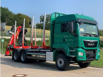 Timber transport MAN TGS 33.510 6X4 BL / Euro6d EPSILON M 12Z