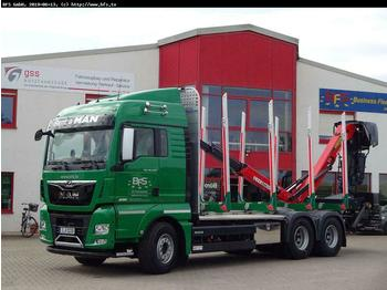 MAN TGX 26.640 6x4 BL Kurzholz, D3876LF09, alter TCO  - timber transport