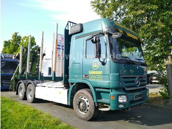 Timber transport Mercedes-Benz ACTROS 2648 L 6x4 LOGLIFT 115Z 3-Pedal ATM/ATG R