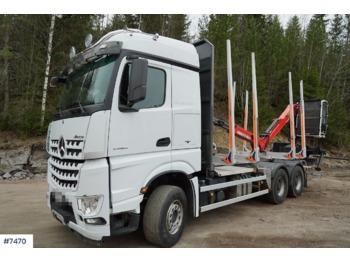 نقل الأخشاب Mercedes-Benz Arocs 2663L