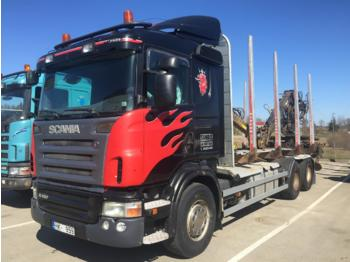 Timber transport SCANIA R480