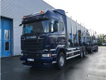 Timber transport SCANIA R500