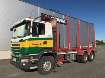 Timber transport SCANIA R560