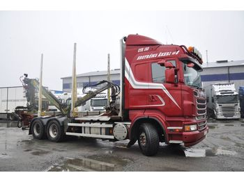 Timber transport SCANIA R560LB6X4HSA