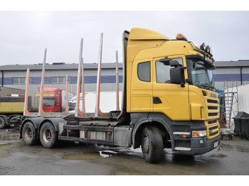 Timber transport SCANIA R560 6X4