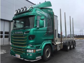 SCANIA R580 - timber transport