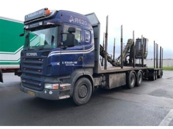 SCANIA R620 - timber transport