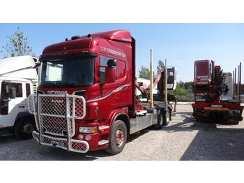 Timber transport SCANIA R620