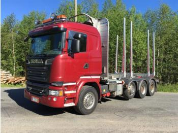SCANIA R730 - timber transport