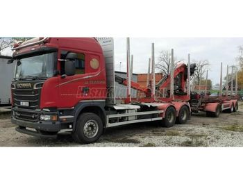 SCANIA R 500 - timber transport