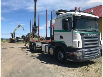 SCANIA - R 560+ Loglift 96 - timber transport