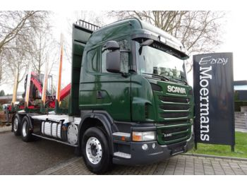 Scania G440 6x2/4 Highline  - timber transport