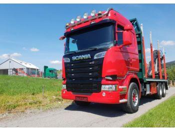 Niewiarygodnie Scania R620 do drewna dłużycy lasu loglift epsilon doll 6x4 euro 5 QH93