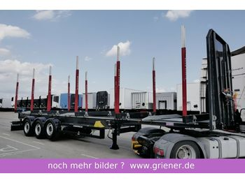 Schwarzmüller Y serie / RUNGENSATTEL HOLZ / 5,7to. wie EXTE  - timber transport