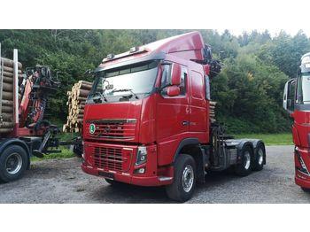 Timber transport Volvo F600 6x4