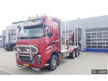 Volvo FH16.700 Globetrotter, Euro 5, full steel suspension - timber transport