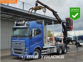 Volvo FH16 750 6X4 XL RETARDER VEB+ Big-Axle Loglift 96S 79R - timber transport
