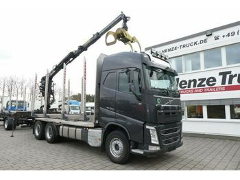 Timber transport Volvo FH 500 6x4 Holztransporter Kurzholz Loglift F 12