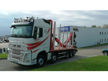 Timber transport Volvo FH 540 --- 10 X 4 --- 5 AXLES