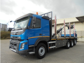 Volvo FMX 460 8X4 EUR 6 - timber transport