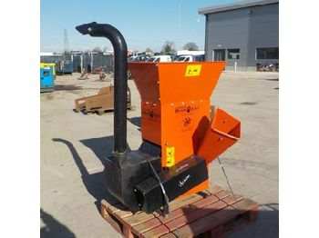 Bearcat PTO Driven Chipper to suit 3 Point Linkage - wood chipper