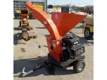 DR Power C550 Single Axle Chipper c/w Vanguard Engine - wood chipper