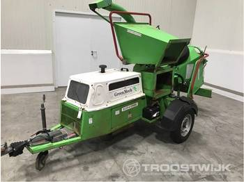 Greenmech Eco Combi ECM150.35D - wood chipper