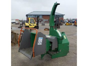 PTO Driven Wood Chipper to suit 3 Point Linkage - wood chipper