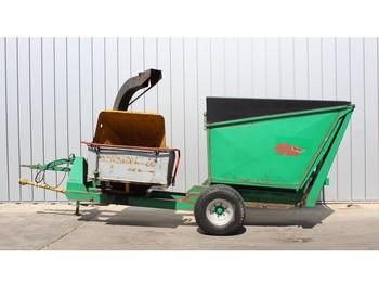 Wood chipper Schliesing 440 ZX houtversnipperaar / chipper / Holzhäcksler