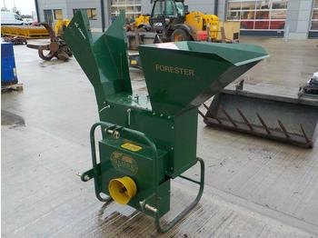 Unused PTO Driven Wood Chipper to suit 3 Point Linkage - wood chipper