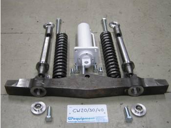 قارنة التوصيل السريعة GP Equipment Onderdelen snelwissel HCW20/30/40 uitwis