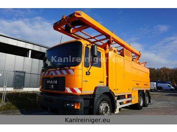 MAN 26.414  Müller Canalmaster WA2  - vacuümwagen