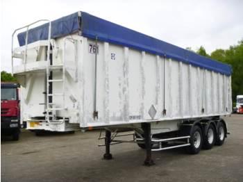 قلابة نصف مقطورة General Trailers Tipper trailer alu 48 m3 + tarpaulin