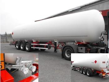 ACERBI LPG/GAS/GAZ BPW+ADR+DISKS/B 27BAR 55.010L - gjysmërimorkio me bot