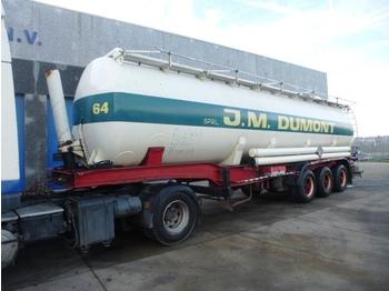 Atcomex BTK45F KIPCITERNE/CITERNE BASCULANTE 45000 liter - gjysmërimorkio me bot