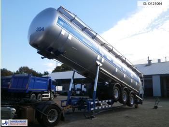 Atcomex Bulk tank alu 60 m3 / 1 comp - gjysmërimorkio me bot