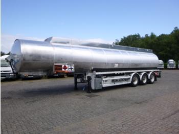 Heil Fuel tank alu 45 m3 / 4 comp - gjysmërimorkio me bot