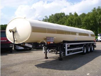 Heil / Thompson Fuel tank alu 43 m3 / 6 comp + pump - gjysmërimorkio me bot