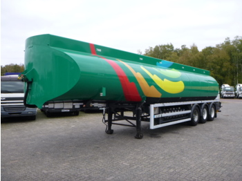 Heil / Thompson Fuel tank alu 44.7 m3 / 6 comp - gjysmërimorkio me bot