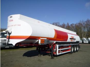 Heil / Thompson Fuel tank alu 44.9 m3 / 6 comp + pump - gjysmërimorkio me bot