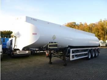 Heil / Thompson Fuel tank alu 45 m3 / 6 comp + pump - gjysmërimorkio me bot