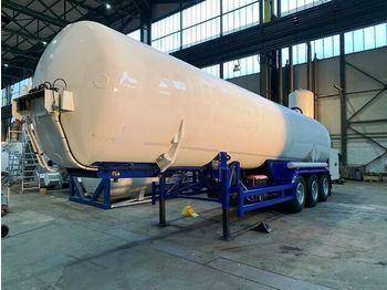 KLAESER GAS, Cryogenic, Oxygen, Argon, Nitrogen Gastank - gjysmërimorkio me bot