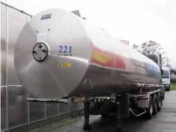 Magyar Chemie Tankauflieger - gjysmërimorkio me bot