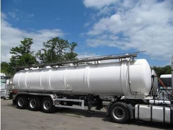 Magyar Edelstahl Cisterne- 36 000 Liter - gjysmërimorkio me bot
