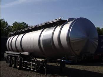 Magyar Edelstahl (Inox) Zisterne 38 kubik - gjysmërimorkio me bot